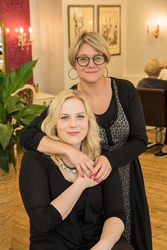 Kerstin und Annika Friseure
